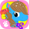 Cute & Tiny Horses - Baby Pony Care & Hair Salon