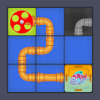 Connect Water Pipes - Slide Puzzle
