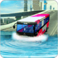 River bus driving tourist bus simulator 2018
