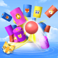 Color Ball 3D Bump : Marble Smash Game