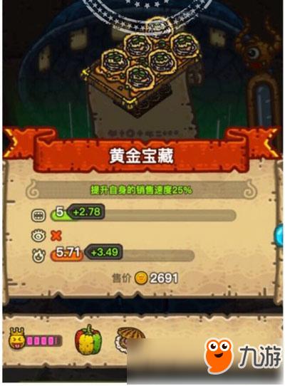 黑暗料理王黃金寶藏皇冠配方介紹 黃金寶藏制作攻略