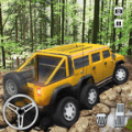 Extreme Offroad Mud-Runner Truck: 6x6 Spin Tires