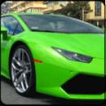 Lamborghini Car Racing Driving