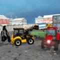 挖掘机模拟装载机3D