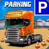 US Semi Big Cargo Truck Parking 3D 2019* *