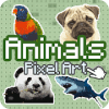 Animals Color by Number  Animals pixel art