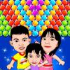 Cute Family Kids  Bubble Mania