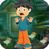 Best Escape Games 192 Fearful Boy Rescue Game