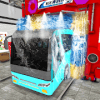 City Bus Wash Simulator Gas Station Car Wash Game