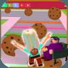 Crazy Cookie vs Grandma Escape Doll  Swirl Obby