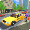 City Taxi Drive Parking Game 3D