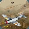 Air War Combat Dogfight airplane sky shooting game