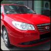 Avante Hyundai car driving and racing simulator