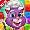Blaster Chef Culinary match & collapse puzzles