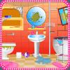浴室清洁女孩游戏