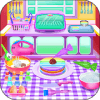Cooking Games Rainbow Cookies Factory