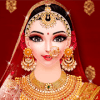 Indian Wedding Makeover,Makeup And Dressup: Part 2