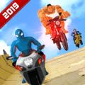 超级英雄自行车巨型坡道3