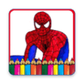 画出蜘蛛侠