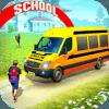 Offroad School Van Driving Minibus Simulator 2019