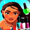 * Princess Moana Nail Salon Manicure