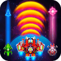 Galaxy Combat: Space shooter, Alien attack