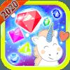 Unicorn Jewels Blast 2020  Match 3 Puzzle Legend