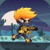 Adventure Ninja Jetpack and Shoot