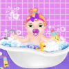 New Born Baby Sitting Babysitter Daycare Game