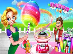 《彩虹棉花糖小店》--成为美味甜点大师!