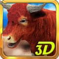 愤怒的公牛3D