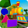 Learn Shapes  3D Train Game For Kids & Toddlers