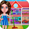 Celebrity House Cleaning : Girl Home Cleanup Game