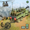 Offroad Army Transporter Truck Driver: Army Games