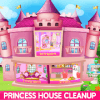 Princess House Cleanup For Girls: Keep Home Clean!