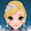 ice princess makeover salon : face makeup and spa