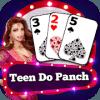 325 Card Game  Teen Do Panch
