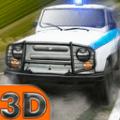 3D警车抓捕