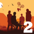 MTB Downhill 2 Bike Race