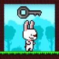 Rabbit Runner  2D Pixel Jump Game