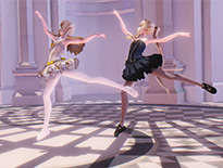 《少女枪战》双生花战场 优雅姐妹芭蕾