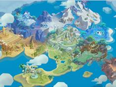 《冒險之光》地圖原畫大曝光
