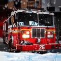 冬季救援消防车