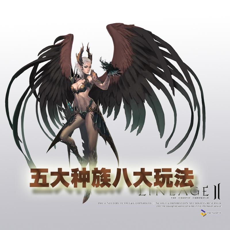 《天堂2血盟》新版本来袭,五大种族八大玩法仲夏爽飞