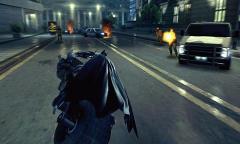 蝙蝠侠:黑暗骑士崛起中文版 海报
