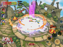 PK原著BOSS《射雕英雄传3D》玩法再升级