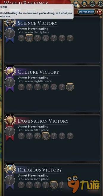 文明6胜利条件介绍 文明6怎么赢