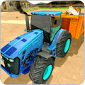 农场动物运输拖拉机