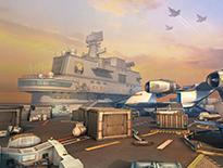 《枪神对决》航空母舰地图问世 大海的宁静与澎湃