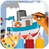 Coloring Ship - Drawing Book